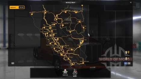 Nombres rusos de las ciudades para American Truck Simulator