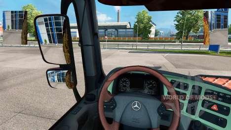 Espejos pequeños para Euro Truck Simulator 2
