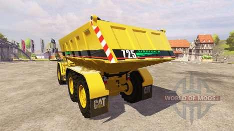Caterpillar 725 v1.6 para Farming Simulator 2013