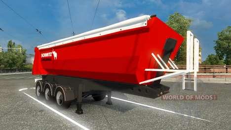 Skin Schmitz Cargobull semitrailer para Euro Truck Simulator 2