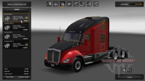 Kenworth T680 1500 HP Engine para American Truck Simulator