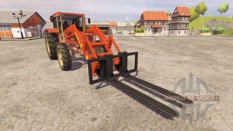 Schluter Compact 1050T v2.0 FL para Farming Simulator 2013