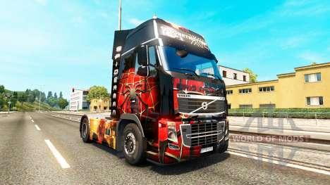 Spiderman piel para camiones Volvo para Euro Truck Simulator 2