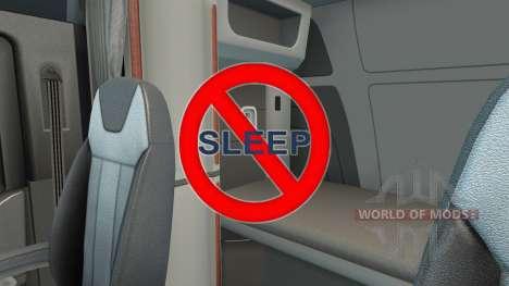 Deshabilitar el sueño para American Truck Simulator