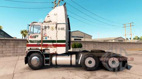 Freightliner FLB Consolidated Frightways para American Truck Simulator