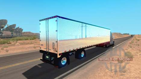Chrome remolque para American Truck Simulator