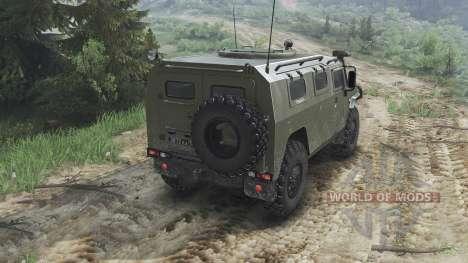 GAZ-2975 Tigre [25.12.15] para Spin Tires