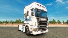 Baviera Express de la piel para Scania camión