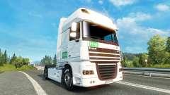 Skin PFAB on tractor DAF