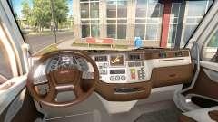 El nuevo color Peterbilt 579 interior
