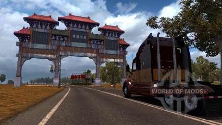 Mapa De China para American Truck Simulator