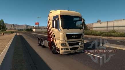 MAN TGX para American Truck Simulator