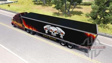 Refrigerado semi-remolque de Camiones Reaper para American Truck Simulator