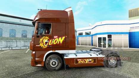 Piel de león para DAF camión para Euro Truck Simulator 2