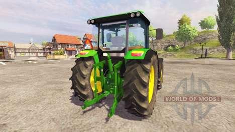 John Deere 5100R para Farming Simulator 2013