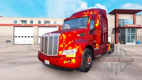Skins para Peterbilt y Kenworth camiones de v0.0 para American Truck Simulator