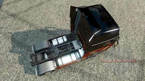 El Departamento de Bomberos de Orlando pieles pa para Euro Truck Simulator 2