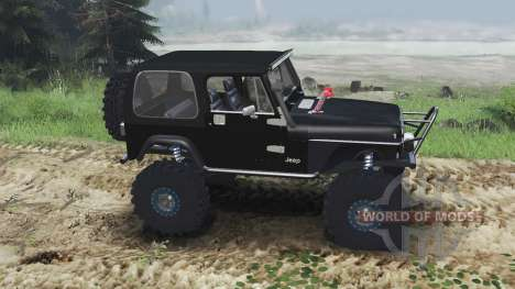 Jeep YJ 1987 [flat fender][03.03.16] para Spin Tires