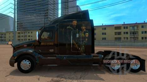 Skin Peterbilt 579 Mad Max para American Truck Simulator