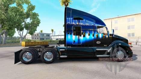 La piel de San Francisco Puente en un Kenworth t para American Truck Simulator