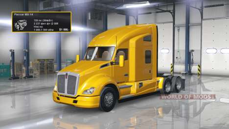 Motor de 720 HP para American Truck Simulator