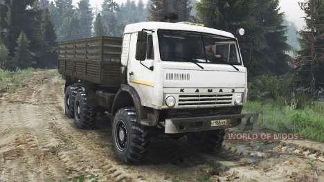 KamAZ-43115 [25.12.15] para Spin Tires