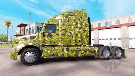 El ejército de la piel para camión Peterbilt para American Truck Simulator