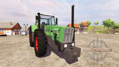 Fendt Favorit 626 v2.0 para Farming Simulator 2013