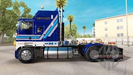 Kenworth K100 Aerodyne para American Truck Simulator