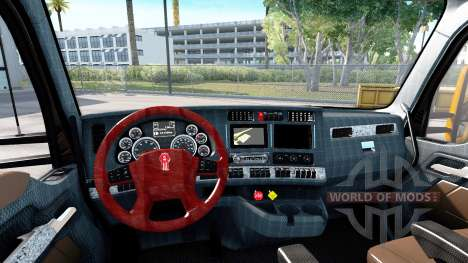 Nuevos colores interiores Kenworth T680 para American Truck Simulator