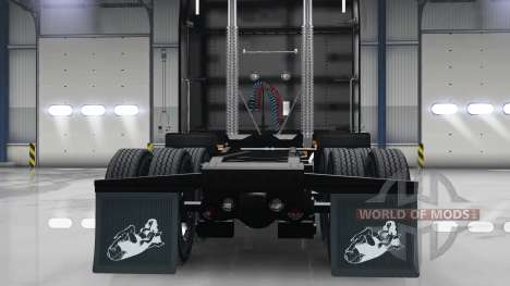 Set HD colgajos de barro para American Truck Simulator