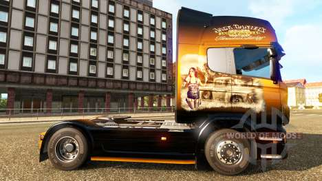 Jack Daniels de la piel para Scania camión para Euro Truck Simulator 2