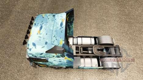 Mar de la piel para camiones Volvo para Euro Truck Simulator 2