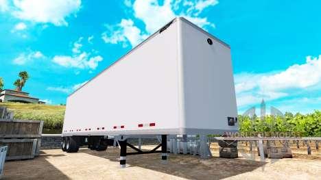 La semi-sólido de metal de Gran Danés v1.1 para American Truck Simulator