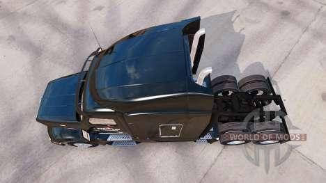 La piel de Outlaw Transporte en camión Peterbilt para American Truck Simulator