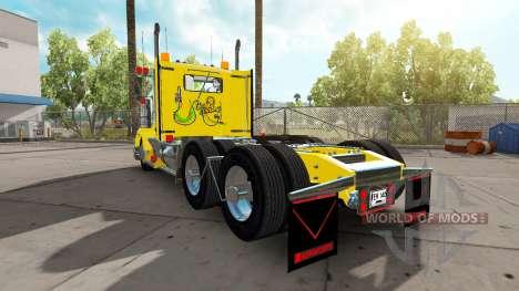 Kenworth T800 Colombia para American Truck Simulator