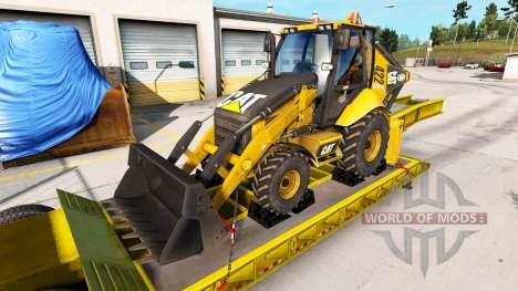 Real de las marcas para el equipo transportable para American Truck Simulator