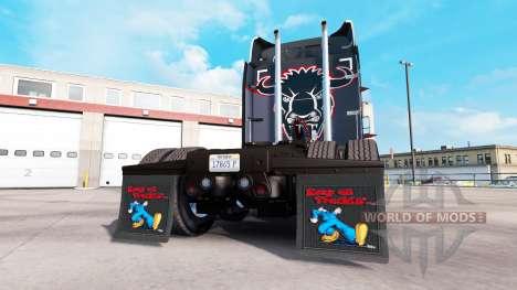 Colgajos de barro Keep on Truckin para American Truck Simulator