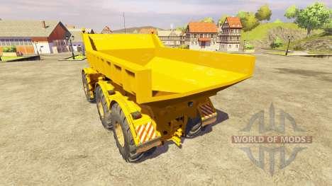 K-701 kirovec [dump truck] para Farming Simulator 2013