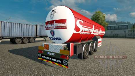 El Trailer Syncron Logística Internacional para Euro Truck Simulator 2