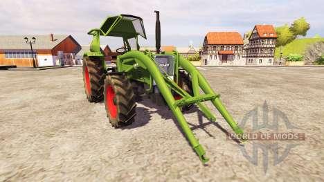 Fendt Favorit 4S FL v2.1 para Farming Simulator 2013
