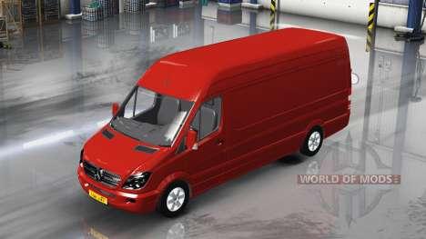 Mercedes-Benz Sprinter LWB v1.1 para American Truck Simulator