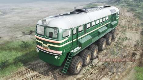 Locomotora Diésel De La M62 [03.03.16] para Spin Tires