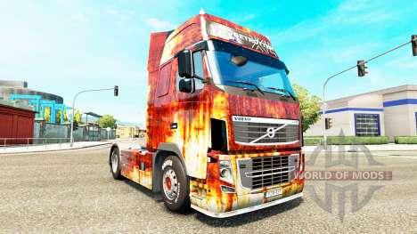Rostlaube de la piel para camiones Volvo para Euro Truck Simulator 2