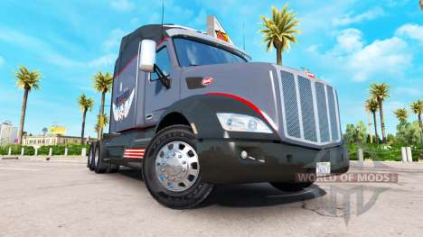 La mafia rusa de la piel para el camión Peterbil para American Truck Simulator