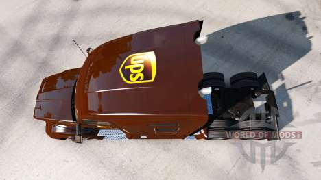 UPS de la piel para el Kenworth tractor para American Truck Simulator
