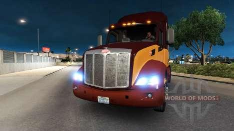 Faros de xenón para American Truck Simulator
