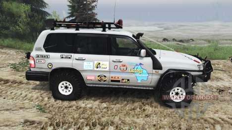 Toyota Land Cruiser 105 [25.12.15] para Spin Tires