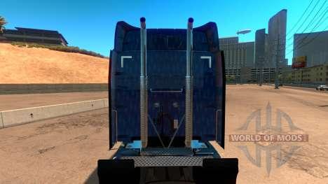El capitán América de la piel para el camión Pet para American Truck Simulator