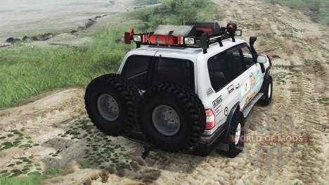 Toyota Land Cruiser 105 [25.12.15] para Spin Tires